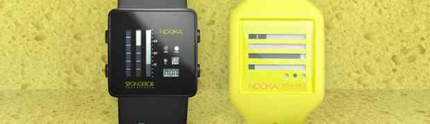 Nooka x SpongeBob Watch