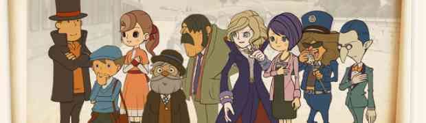 Review: Professor Layton and the Diabolical Box