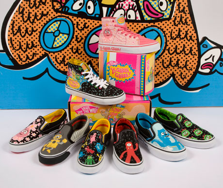 Yo Gabba Gabba Shoes Vans Adults