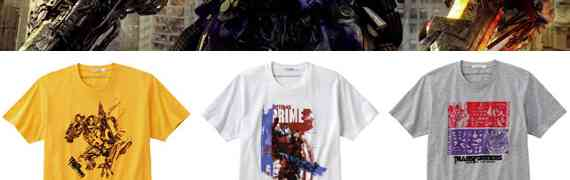 UNIQLO x Transformers T-Shirts