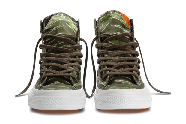 541102bfb8064d Converse collaborates with KICKS HI (third time) for a Converse Chuck  Taylor All Star shoe for Holiday 2011. The release of the Converse x KICKS  HI project ...
