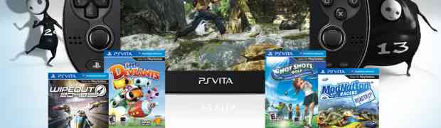 PlayStation Vita Launch Games Lineup