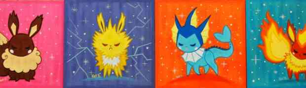 Kat Brunnegraff x Pokemon: Gotta Paint Them All