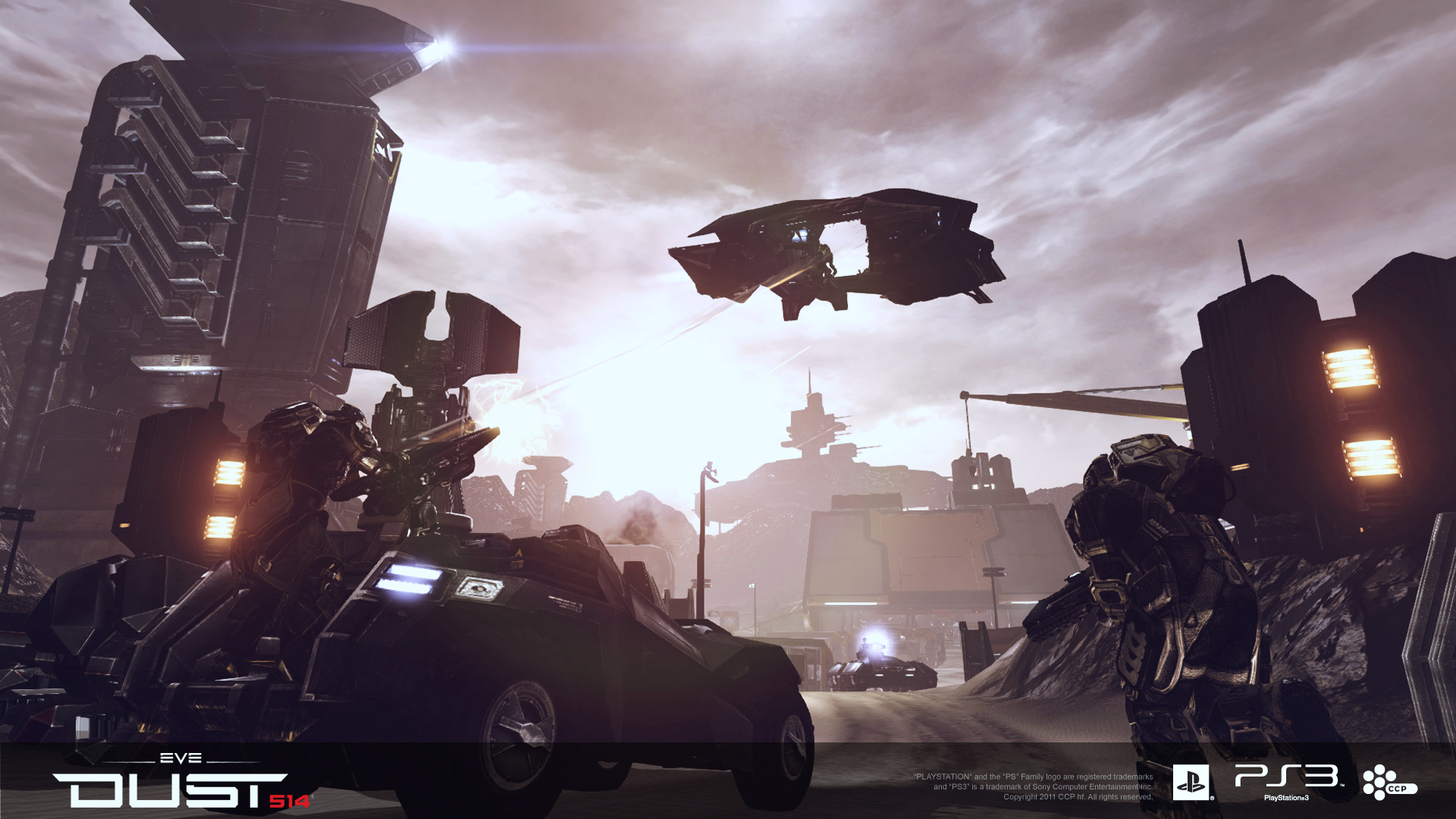 Behind Dust 514 - Understanding CCP'-s PS3 exclusive MMO shooter