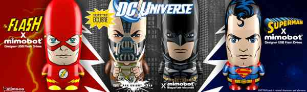 Mimobot x DC Comics The Dark Knight Returns USB Drives