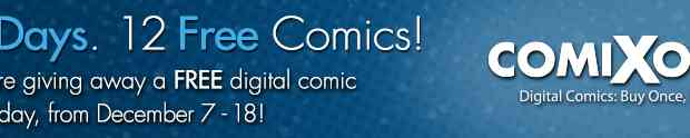ComiXology: 12 Days of Free Comics starts today