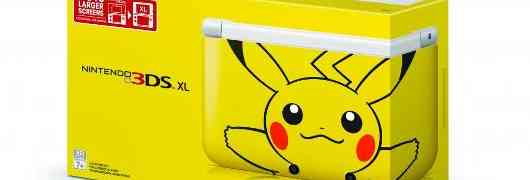 Pikachu 3DS XL comes March 24