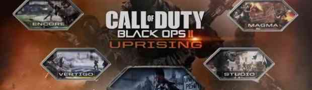 New Black Ops II DLC - Uprising