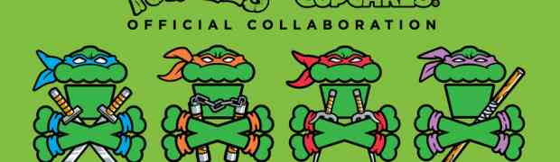 Johnny Cupcakes x TMNT collab
