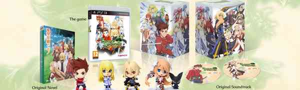 Tales of Symphonia Limited Collector's Edition Exclusively on the PS3