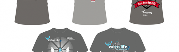 Things We're Diggin': Extra Life 2014 T-Shirt Contest