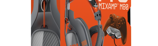 Astro Gaming Introduces New Orange + Grey A40 + Mixamp M80 for Xbox One
