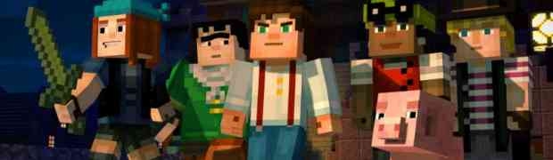 Telltale Games and Mojang Reveal World Premiere Trailer & First Cast Details for 'Minecraft: Story Mode - A Telltale Games Series'