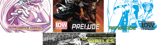IDW Announces NYCC 2015 Exclusives
