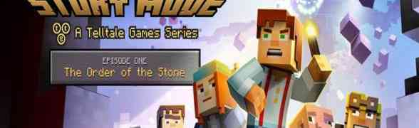 'Minecraft: Story Mode - A Telltale Games Series'  Episode One: The Order of the Stone