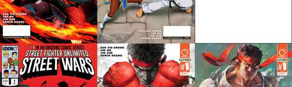 STREET FIGHTER™ UNLIMITED #1 Covers and Variants Revealed