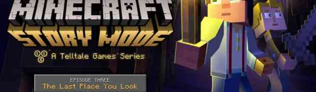 Third Episode in Five-Part Episodic Game Series Set in the Minecraft Universe Available November 24th