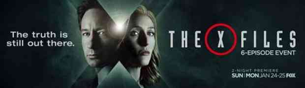 Watch The First Minute of 'The X-Files' Opener