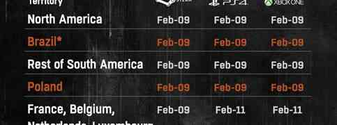 Dying Light: The Following - Enhanced Edition Global Release Dates Announced
