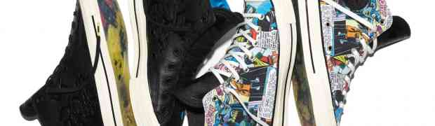 Converse and Warner Bros. Launch Chuck Taylor All Star '70 DC Comics Batman Collection