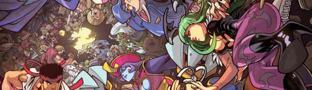 UDON Entertainment reveals STREET FIGHTER VS. DARKSTALKERS #1 covers