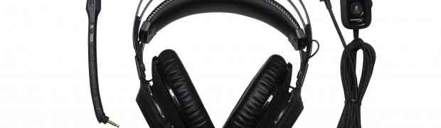 HyperX Cloud Revolver S Gaming Headset with Plug-and-Play  Dolby Surround Sound Now Shipping