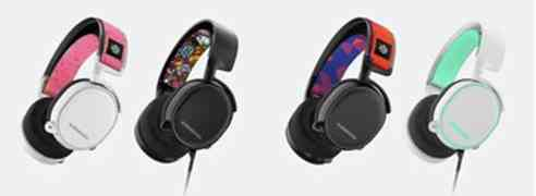 SteelSeries Unveils Bold, New Headband Accessories for Arctis Headset Line