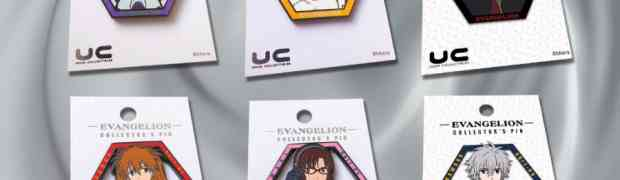 UDON COLLECTIBLES presents exclusive EVANGELION pins