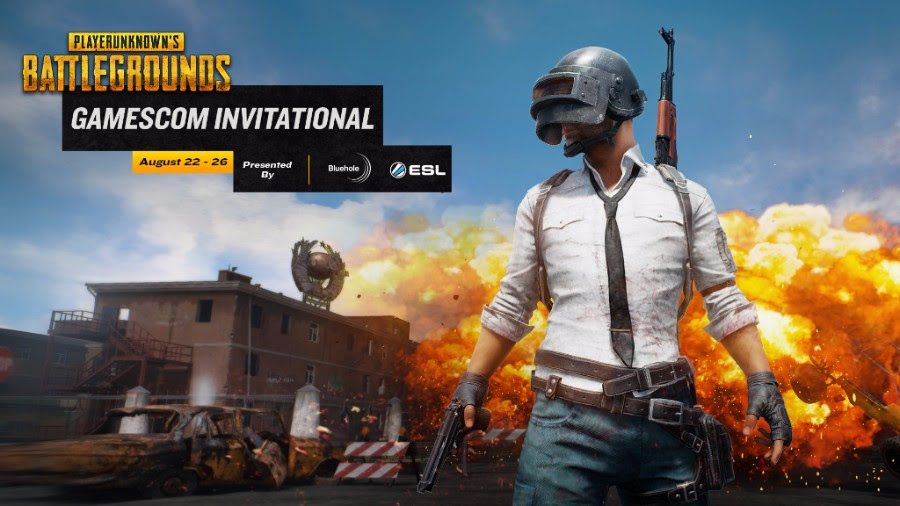 Bluehole And ESL Announce Gamescom PLAYERUNKNOWN'S