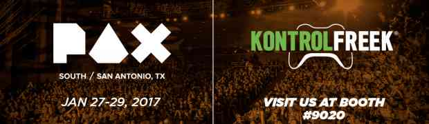 [PAX SOUTH 2017] KontrolFreek Heads To PAX South With A Nintendo Switch To Give Away