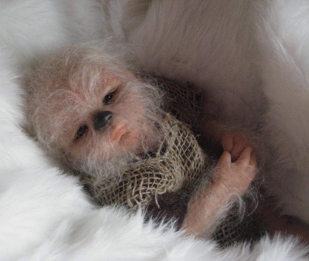 Baby Chewbacca Is Adorable and Creepy! | bifuteki